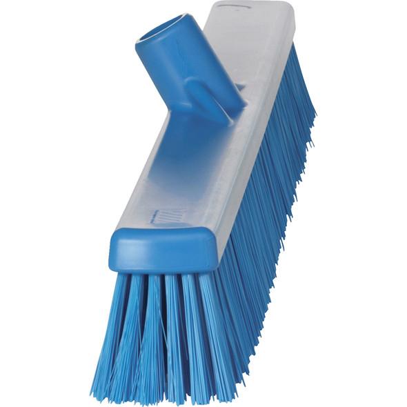 "Vikan 3194 24"" Soft/Stiff Combo Push Broom (Side View)"