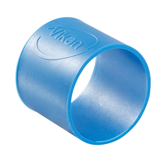 """Vikan 9801 1"""" Color-Coded Silicon Bands (5 Pack) in Blue"""