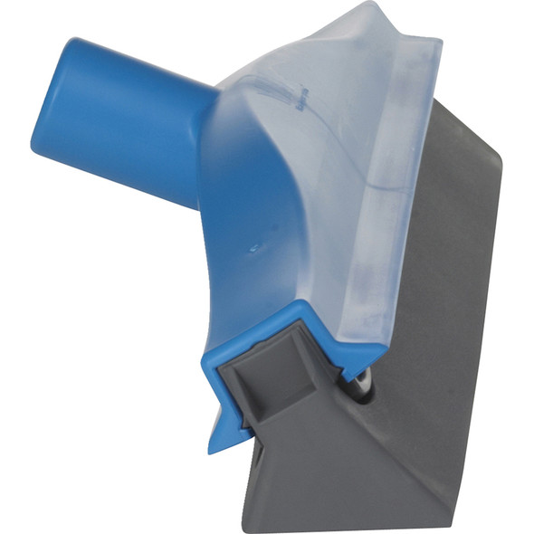 Blue Ceiling Squeegee w/ 16 ft. ext. Handle (Side View)