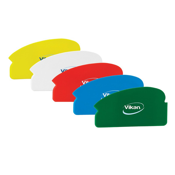 "Vikan 4051x 6.5"" Flexible Plastic Scraper - Available 5 Colors"