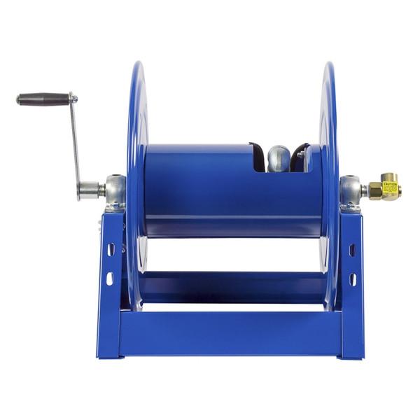 Coxreels 1125-5-100 Heavy-Duty Steel Hand Crank Hose Reel (Rear)