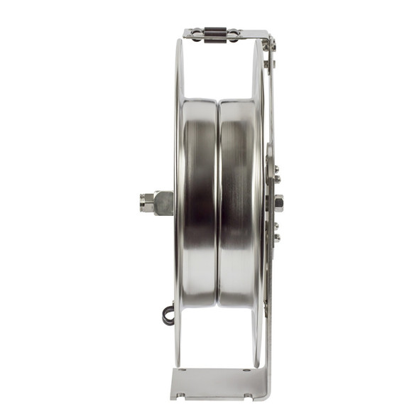 Coxreels SHL-N-5xx-SS Stainless Steel Retractable Hose Reel (End)