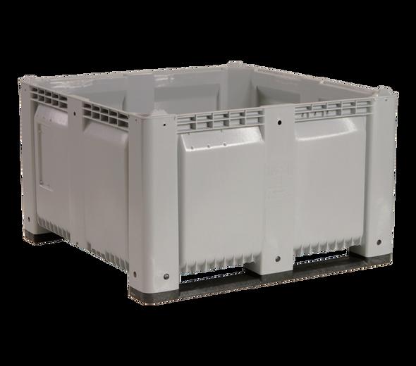 "MACX48 Solid Harvest Bin - 48"" x 48"" x 28.5"" Bulk Container"