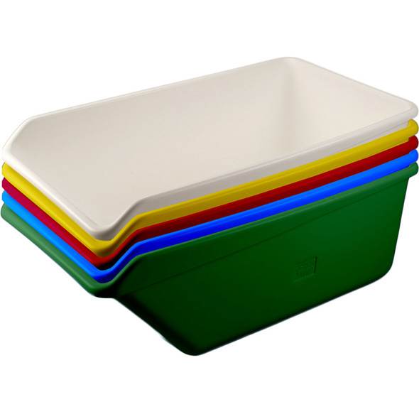 Large Angled Dump Tub Stacked