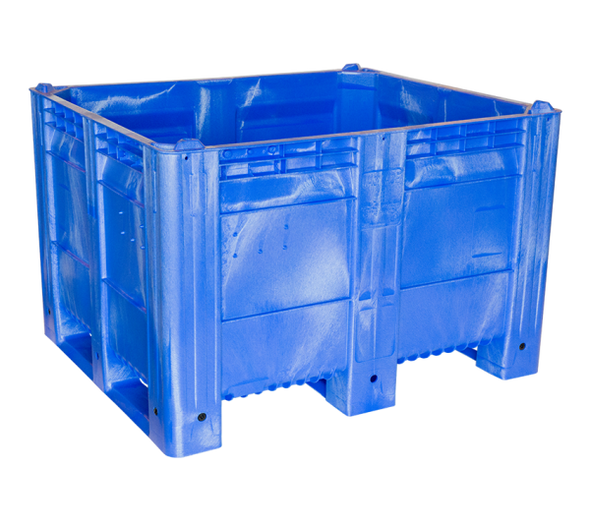 "MACXAce Solid Harvest Bin - 48""x40""x31"" Integrated Runners"