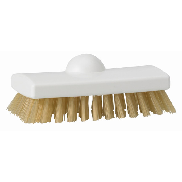 "Vikan 47535 High Temp 6"" Stiff Scrubbing Brush"