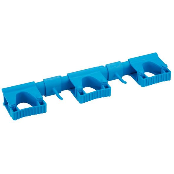 Vikan 1011 Hygienic Hi-Flex Wall Bracket System for 5-10 Tools