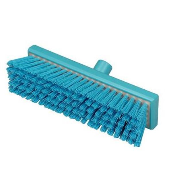 "Hill Brush B993RES 12"" Broom with Stiff Resin-Set Bristles"