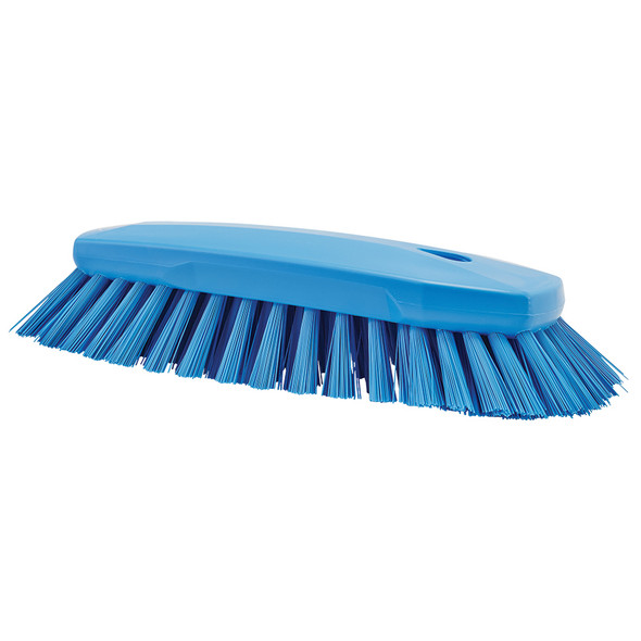 Vikan 3892x Extra Large Flared Hand Brush with Stiff Bristles (Side View)