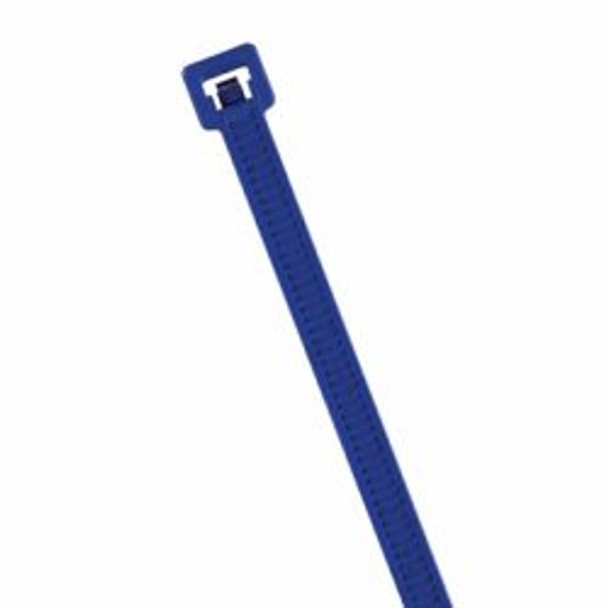 "HellermannTyton MCT30R Metal Detectable 6"" Cable Ties in Blue"