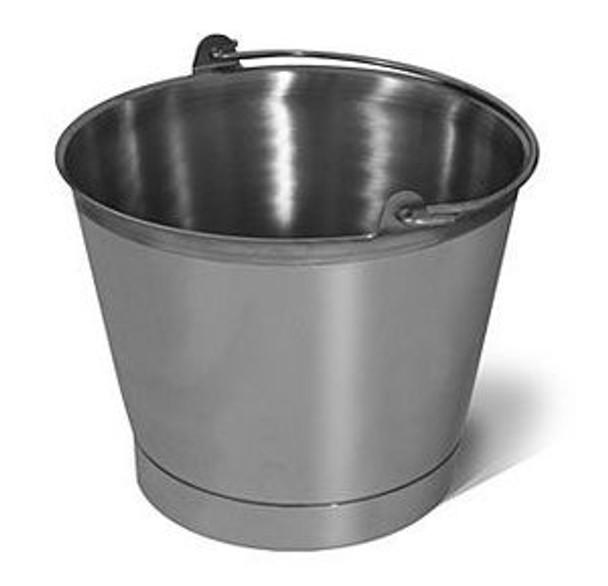 SANI-LAV P13 13 Quart Stainless Steel Bucket/Pail