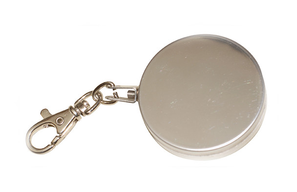Detectapro SSKR Stainless Steel Retractable Key Ring