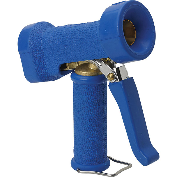 Vikan 9324 Water Nozzle in Yellow (Angle View)