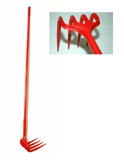 "Harold Moore HR14015 Unirake Grape Rake with 69"" Handle"