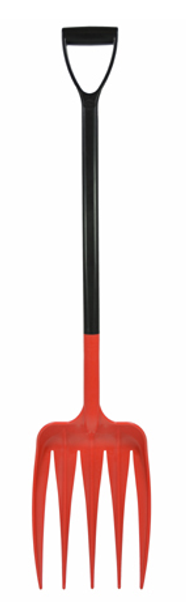 Harold Moore HR135 Unifork with Extended D Grip Shaft in Red