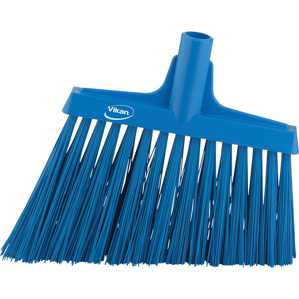 "Vikan 2914 12"" Angle Broom with Stiff Bristles"