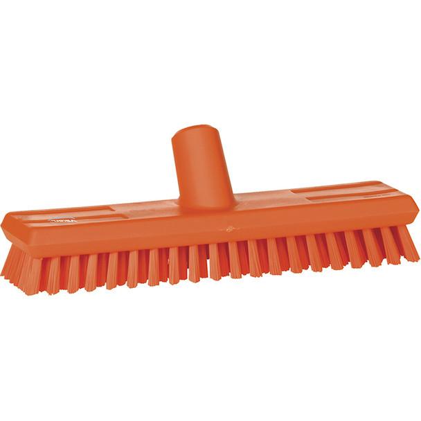 """Vikan 7041 11"""" Waterfed Extra Stiff Floor Scrub"""