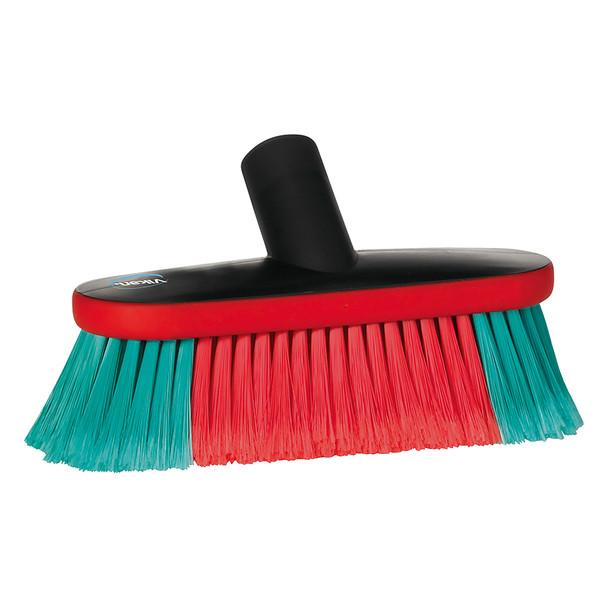 "Vikan 526952 9"" Soft/Split Waterfed Vehicle Brush"