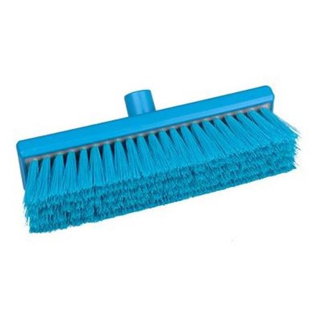 "Hill Brush B758RES 12"" Broom with Medium Resin-Set Bristles"