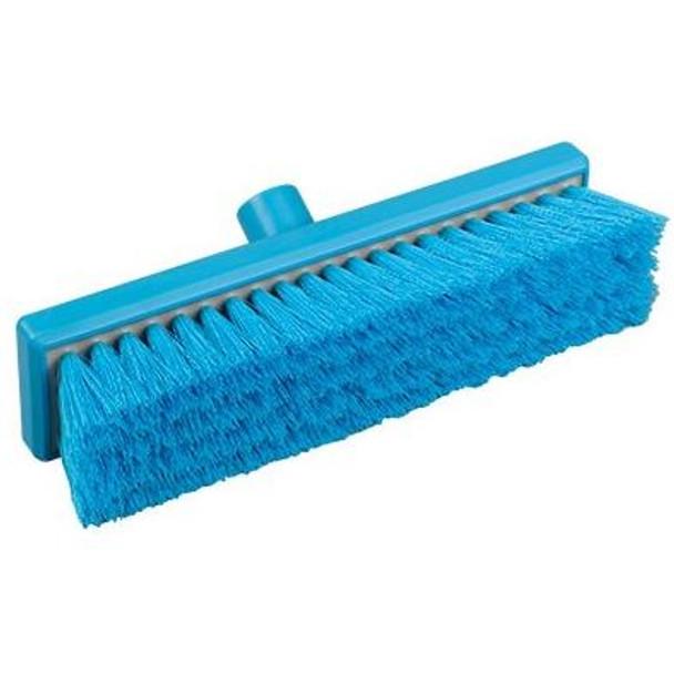 "Hill Brush B849RES 12"" Broom with Soft Resin-Set Bristles"
