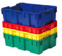 Solid Grape Harvest Container Tote/Lug