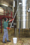 """Remco / Vikan Aluminum Telescopic 64"""" - 115"""" Extension Handle is great for cleaning brewery / winery tanks"""