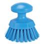 Vikan Round Scrub Brush in Blue