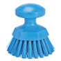 Vikan 3885 Round Scrub Brush in Blue