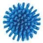 Vikan Round Scrub Brush in Blue (Bottom View)