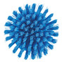 Vikan 3885 Round Scrub Brush in Blue (Bottom View)