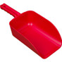 Large 82 oz. Color-Coded Scoop in Red (Angle View)