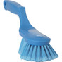 Vikan 4167 Raised Handle Ergonomic Soft/Split Washing Brush (Angled View)