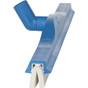 """Vikan 7764x 24"""" Swivel Neck Foam Squeegee in Blue (Side View)"""
