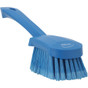 Vikan Short Handle Washing Brush - Extra Soft (Angle View)