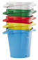 Vikan 5692 5 Gallon Bucket/Pail in multiple colors and stackable