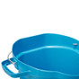 Vikan 5692 5 Gallon Bucket/Pail in Blue (Inside View)