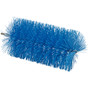 "Vikan  5391 3.5"" Pipe Brush for Flex Rod in Blue (Angle View)"