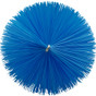 "Vikan  5391 3.5"" Pipe Brush for Flex Rod in Blue (Tip View)"