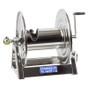 Coxreels 1125-5-100-SP Stainless Steel Hand Crank Hose Reel