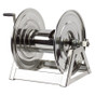 Coxreels 1125-5-100-SP Stainless Steel Hand Crank Hose Reel (Rear)