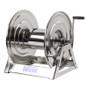 Coxreels 1125-5-100-SP Stainless Steel Hand Crank Hose Reel (Front Crank)