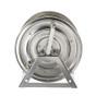 Coxreels 1125-5-100-SP Stainless Steel Hand Crank Hose Reel (Crank Side)