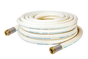 50 Ft. Poseidon White Wash-Down Hose Assembly Coil