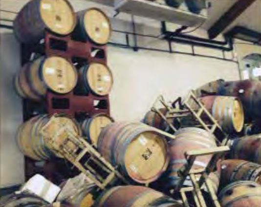 Ideology Cellars after Napa Valley Earthquake of 2014
