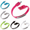 Colorful Mini Micro USB Bracelet Charger Data Charging Cable Sync Cord For iPhone 6s 7 Android Type-C Phone cable