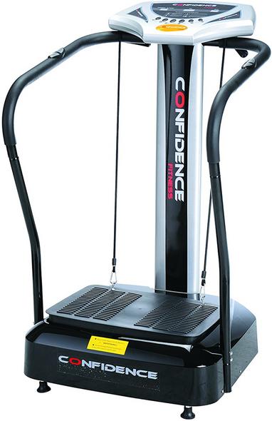 Full Body Vibration Platform Fitness Machine, Black