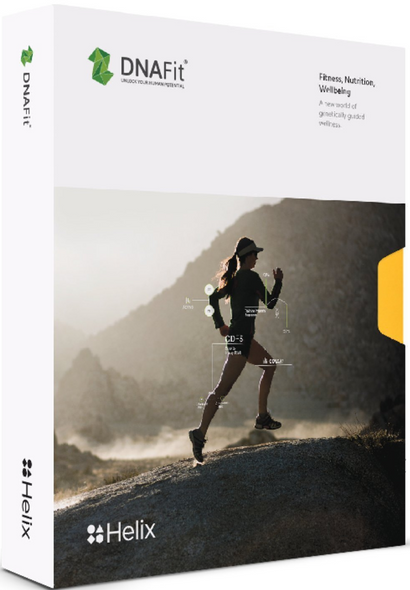 DNAFit DNA Test Kit: Personalized Exercise + Nutrition Plans (Fitness Diet Pro) powered by Helix