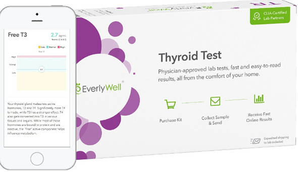 EverlyWell - Thyroid Test - Check Your Thyroid Function (Not available in MD,NY, NJ, RI)