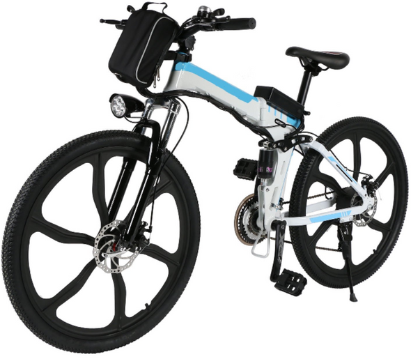 Ferty Folding 36V 250W Electric Moped Sport Mountain Men Bicycle with Large Capacity Battery [US STOCK]