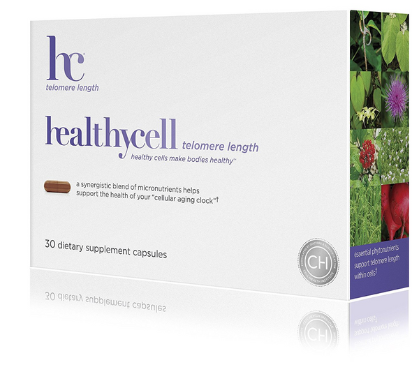 Healthycell Telomere Length Supplement with AC-11 - Supports Lengthening of Telomeres Safely through DNA Repair - Anti Aging Product for Healthy Aging - Cell Health - Lifespan - Stem Cell - Non-GMO